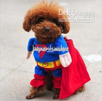 Wholesale On sale lovely Superman dog clothes dog apparel pet clothes Dog costume pet products