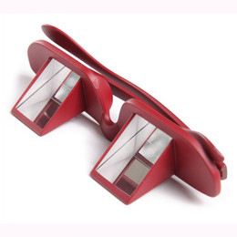 Wholesale Lazy Creative Periscope Horizontal Reading TV Sit View Glasses On Bed Lie Down Bed Prism Spectacles The Lazy Glasses