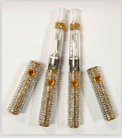 Wholesale Diamand Crystal Ego ce4 Set two pieces of mah batteries CE4 atomizers the best christmas gift DHL