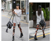 Wholesale Cool Sexy Ladies Camouflage Army Print Stretch Jeggings Pants Leggings Trousers