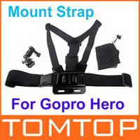 Cheap Elastic Body Chest Harness Strap Mount Belt with Three-way Adjustment Base for Gopro Hero 1 2 3 HERO3+ Hot Sale Camera Accessory D926