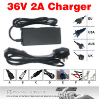 Wholesale 36V A battery Charger Output V A Input VAC Used for E bike li ion battery charging
