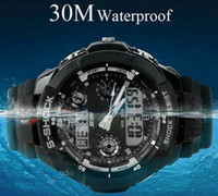 Sport Men's Diver 2013 Top Brand SKMEI Men Sport Quartz Watch Military Watches Army Japan PC Movement Wristwatch Fashion Men's Watches water-proof watch
