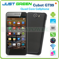 Cubot 4.5 Android Low Factory Price Cubot GT99 4.5 Inch Android MTK6589 Quad Core 1.5GHz WCDMA 3G Smart Phone 12.6MP Camera GPS