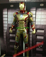 Wholesale Fedex Cartoon Movies Toy Iron Man FRP fiber reinforced composite plastic Action Figures cm Christmas Gifts1 Iron MK42