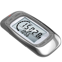 Wholesale Free shippment D Sensor multi function pedometer with day memory and clock Accelerometer sensor