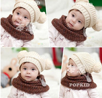 Unisex Winter Crochet Hats Fashion New 20pcs Baby Caps Crochet Hat With Rabbit baby crochet hats infant beanie Kid knitted cap newest 5colors Free Shipping