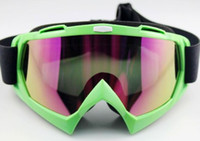 Wholesale Ski Snowboard Skate Goggles Glasses Outdoor Motorcycle Off Road Ski Goggle Glasses Eyewear LensT815