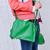 Wholesale New Restore Mini Tassel Shoulder Bag Women s Girl Handbag Satchel Bags Cross Body Green Blue Abic