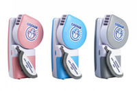 Wholesale Mini Portable Hand Held Air Conditioner Handy Cooler amp USB Mini Hand Held Fan second generation