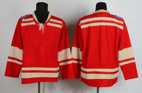 Wholesale Red Wings Winter Classic Red Hockey Jerseys Cheap Red Ice Hockey Jerseys Blank Hockey Wears High Quality Athletic Apparel Outdoor Uniform
