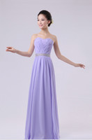 Wholesale 2013 NEW Briesmaid evening formal prom maxi gown strapless chiffon long wedding party red blue white dress size