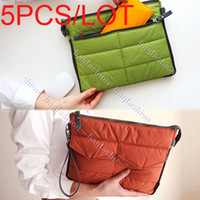 Wholesale 5PCS Korea Pop Fashion Storage Bag Handbag for Ipad Laptop sleeve for Ipad Digital Storage Bag Clutch Colors Abic