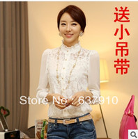 Cheap Lace blusas Best Same as Image L blusa renda