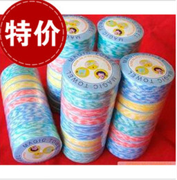 Wholesale Magic Towels Economical Mini Travel Compressed Towel Beach Towel Hand Towel Bathroom Products