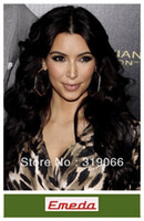 Wholesale Cheap Body Wave inch Lace Front Wigs with bangs Indian remy Human Hair middle part lace wig