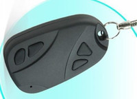 Wholesale New Car Keys mini dv DVR Support TF Card hidden Camera spy