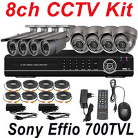 Wholesale sale cheap best ch cctv kit system security surveillance video camera channel full D1 HD DVR network digital video recorder