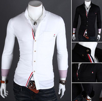Men Silk Long Sleeve NEW Men's casual Slim long Sleeve Shirts Men's shirts Dress Shirts For Men Business Shirts 9005