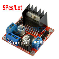 Wholesale 5Pcs L298N Dual H Bridge DC Stepper Motor Drive Controller Board Module TK0450