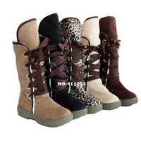 Half Boots Women Winter 2013 Fashion Women's Girls Suede Mid Calf Winter Warm Snow Boots Round Toe Shoes Flat Boots 9156 F-Abig