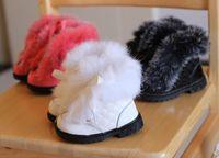 2013 Winter Children Girls Fur Warmest Snow Boots Cotton Boo...