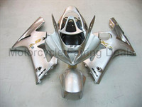 Wholesale Fairings Kit with tank cover for ZX6R ZX6R Silver ABS Plastic