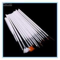 Wholesale 15 professinal Nail Art Brush Set Design Painting Pen for natural false and D