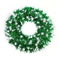 Wholesale Dia cm Colorful Christmas Garland Door Garland Christmas Tree Decoration Gift Craft SD123