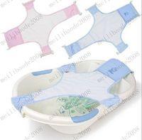 toddler bed - Newest Adjustable Baby Kid Toddler Infant Newborn Safety Security Shower Bath Seat Tub Bathtub Support Net Cradle Bed MYY7312