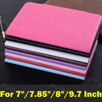 Wholesale 7 inch inch inch Tablet PU Leather Case Universal Protect Skin Suction Mount Cover For inch Android MID tablet pc