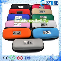 Wholesale In stock Cheapest Portable case for E cigarette EGO series Colorful bags with zipper corlors sizes L M S M