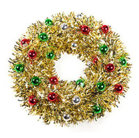 Wholesale Dia cm Beautiful Color Christmas Garland Christmas Tree Ornament Home Decoration SD124