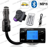 Wholesale LLFA3405 Bluetooth Car Kit MP3 Player With FM Transmitter Modulator Remote Control USB SD MMC Support