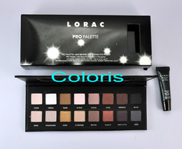 Wholesale New Lorac Pro Colors Eye Sgadows Palette With Mini Behind The Scenes Eye Primer