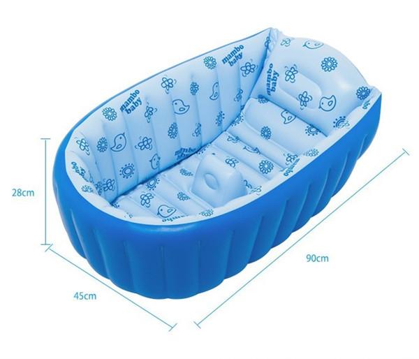 Gonfiabile del bambino vasca da bagno forniture appena nati vasca ...
