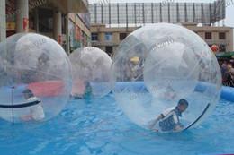 Wholesale LLFA3410 Nueva Water Walk piscina de bolas multifunción TPU agua de la piscina inflable de PVC juguetes inflables M PIES