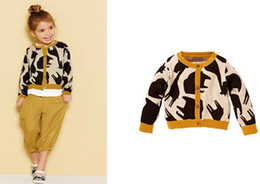 Wholesale 2013 autumn children s clothing girls sweater cardigan sweater children cotton fawn