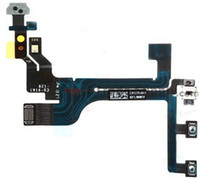 Wholesale Power On Off Button Switch Flex Cable Replacement Repair Parts For IPhone C
