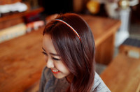 3 colors in choice  plastic headbands - 10 New arrivals Women Lady Candy color plastic Hair Clips Headwear Headband
