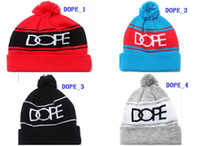Fleece Hats Unisex Embroidered Winter Beanies DOPE Snapbacks Wholesale Cheap DOPE Beanies Snapback Hats Custom one size Knitted Hats Sport Caps AAA Quality Free Ship