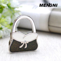 Wholesale Korean Fashion Bag color pink padlock creative folding bag hook Bag hook Green grass blue sky romantic purple deep dark green