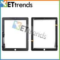 Wholesale for iPad Touch Panel Digitizer Glasstop Replacement Touch Screen Touchpad Digitizer Glass AA0131