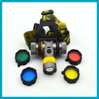 Wholesale 1 Piece NEW CREE Waterproof LM Lumen Headlamp HeadlightTorch Flashlight by