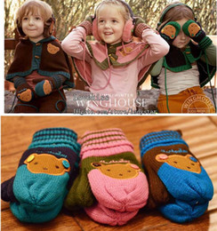 Wholesale Children Accessories Children Gloves Girls Mittens Girl Winter Gloves Girls Knitting Gloves Kids Mitten Boys Glove