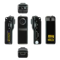 Wholesale High Recommend x480 FPS MD80 spy Mini DV DVR Sport Video Camera webcam Hidden Camera Camcorder