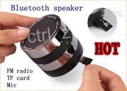 Wholesale New Wireless Bluetooth Stereo Loud Speaker Super Bass Portable Speakers Speakerphone Loudspeaker for iPhone s c note tab ipad air mini