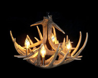 110V artistic pendants - Artistic Antler Featured Chandelier with Lights hot sale MYY7326