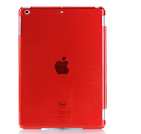 Wholesale PC thin back case For iPad Air iPad ipad mini inch table PC Crystal Transparent Clear Hard back cover PC Case