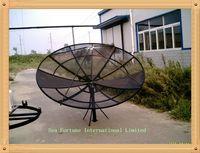 Wholesale 2 m ft mesh polar Prime Focus C band dish Antenna satelite TV antenna